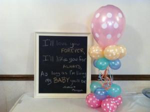 Baby Shower Polka Dot Balloons