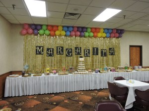 Border Made out of Balloons