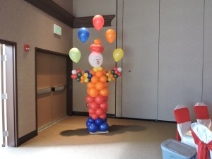 Clown Balloon Sculpture