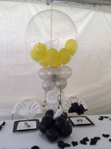 Custom Wedding Balloon with Wedding Date