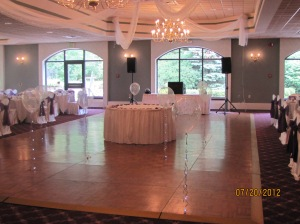 Dance Floor Decorating Ideas