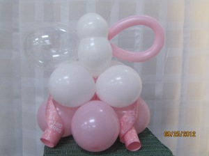 Pacifier Baby Shower Centerpiece