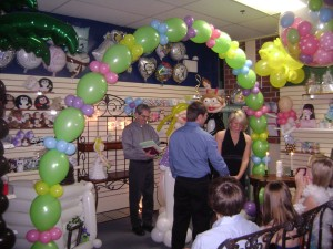 Balloon Store Wedding