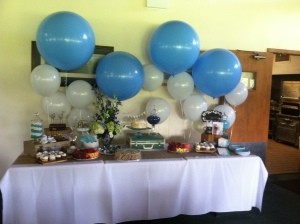 Dessert Table Balloons