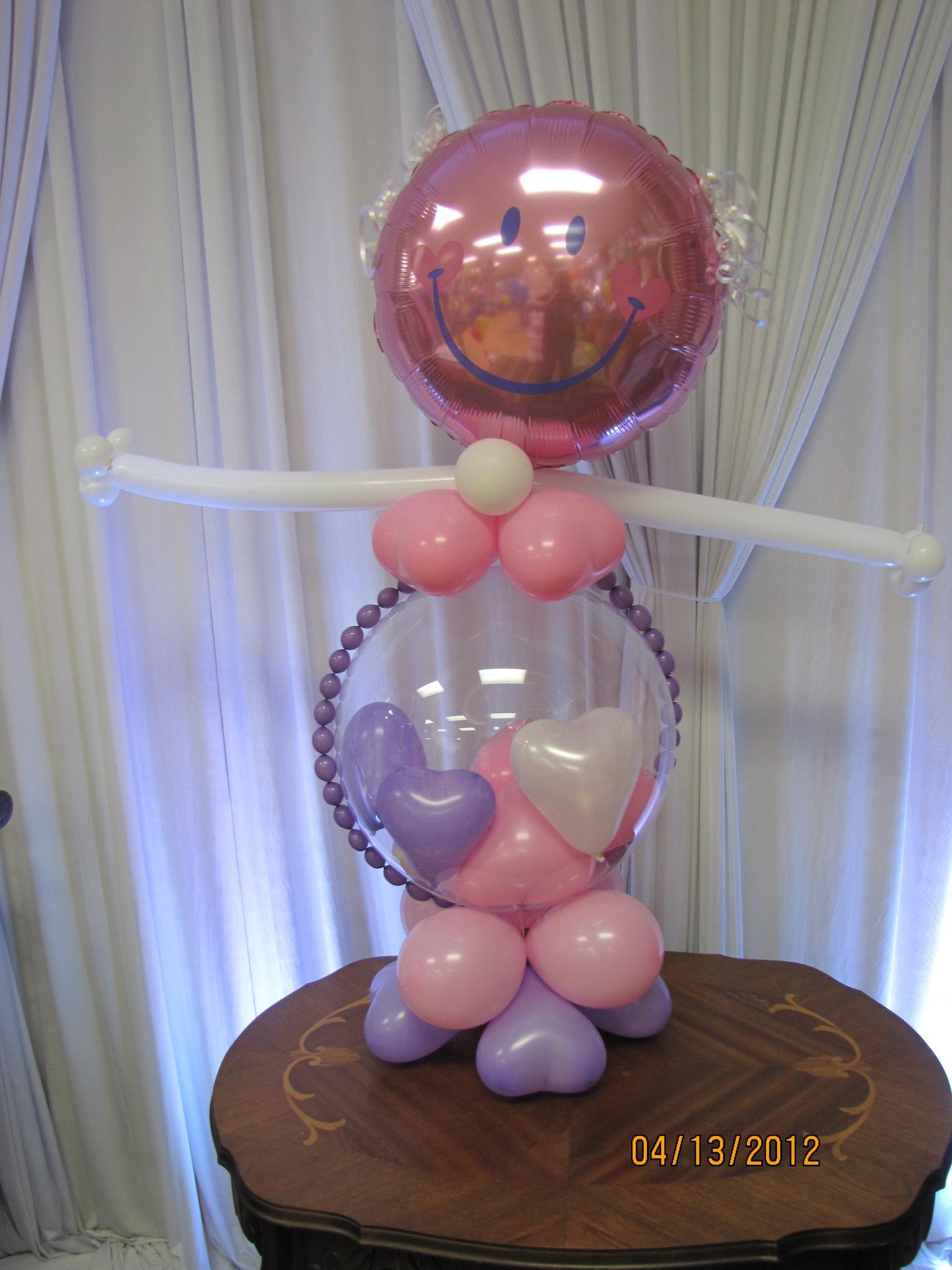 baby shower balloon decor nwiballoons
