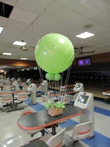 Hot Air Balloons made out of 3 Foot Latex Balloons