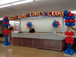 Boys and Girls Club of America Balloons