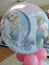 Frozen Balloon Decor