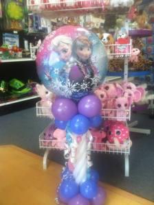 Centerpiece for Frozen Party