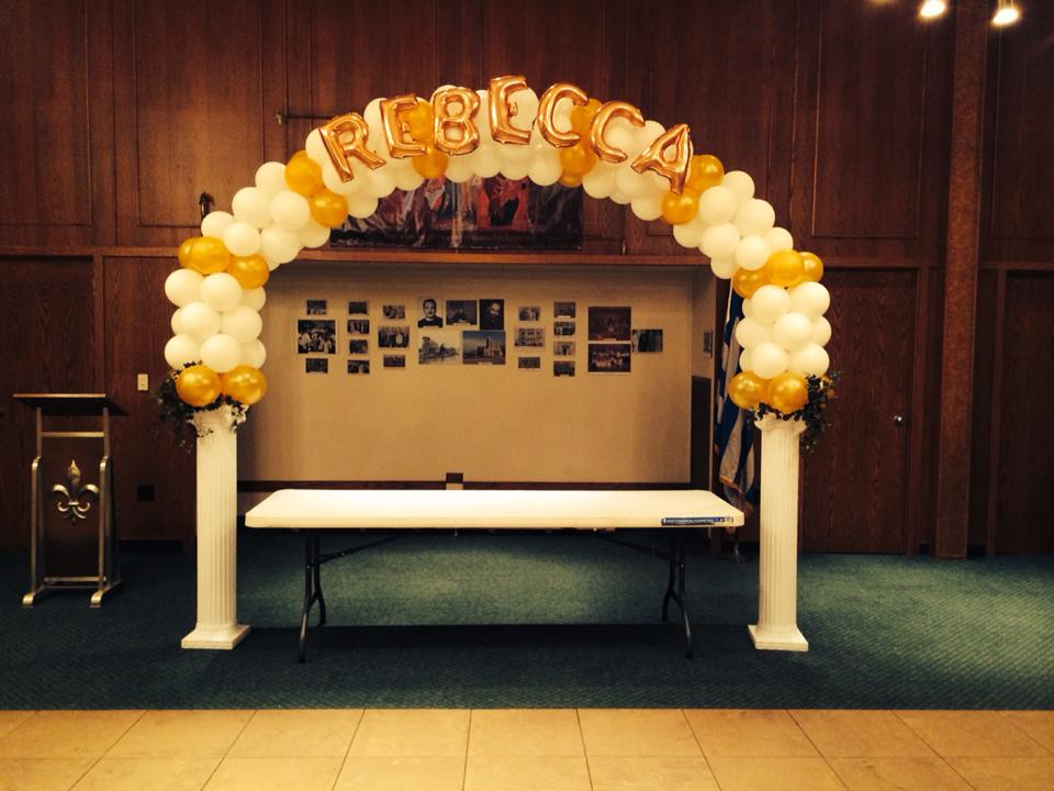 Balloon Arch With Name Nwiballoons