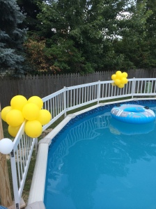 Decorations for Pool Party