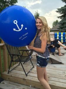 Bon Voyage Party Balloons