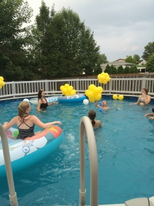 Pool Party Balloons