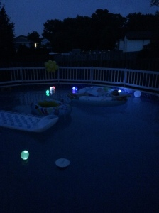 Pool Party Balloon Lights