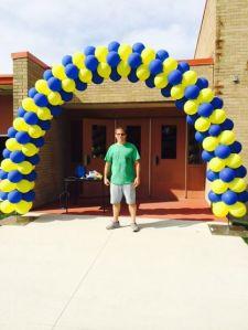 Open House Balloon Arch