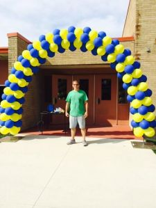 Open House Balloon Arch