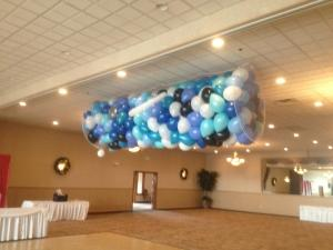 Wedding Balloon Drop