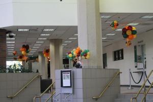 Hallway Balloon Decor