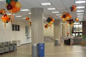 Fall Balloon Decor