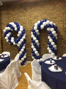 90th Birthday Balloons