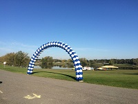 Hidden Lake Merrillville Balloon Arch
