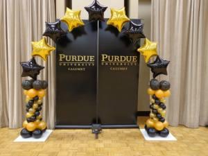 Purdue Balloon Arch