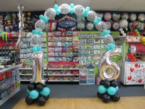Sweet 16 Balloon Arch