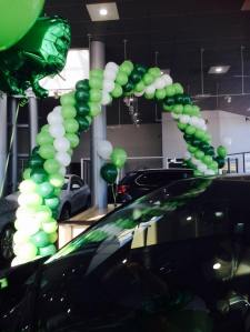 St. Patrick's Day Balloon Arch