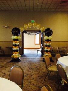 Great Gatsby Balloon Arch