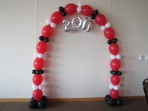 Link O Loon Balloon Arch