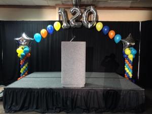 Anniversary Balloon Arch