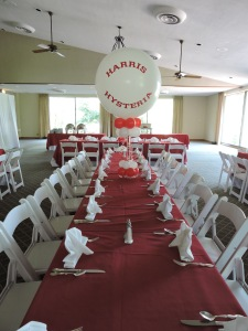 Balloon Centerpiece Bar Mitzvah