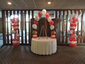 Entryway Balloon Decor