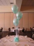 Tulle Baby Shower Balloons