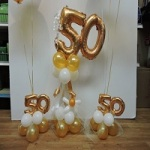 Number Balloon Bases