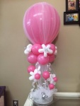 Baby Shower Tulle Balloon Design