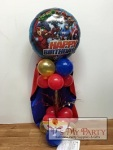 Superhero Pedestal Centerpiece
