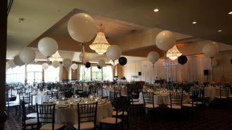 Balloons for a Wedding