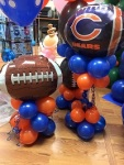 Football Balloon Decor