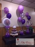 Purple Balloon Decor
